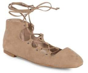 French Connection Kamilla Suede Ballet Flats