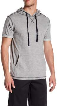Burnside Short Sleeve Hooded Pullover