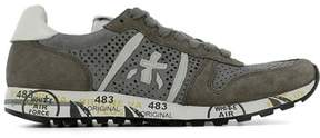 Premiata Men's Grey Suede Sneakers.