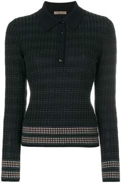 Bottega Veneta knitted polo neck