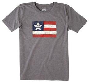 Life is Good Life Is Good? Boys' Flag Cool T-shirt.