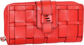 Nino Bossi Wendi Woven Leather Wallet (Women's)