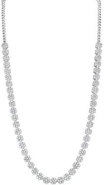 Bloomingdale's Diamond Flower Necklace in 14K White Gold, 6.4 ct. t.w. - 100% Exclusive
