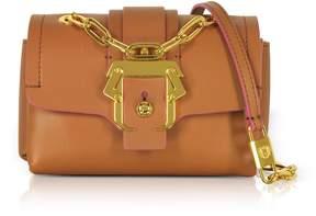 Paula Cademartori Kaia Monocolor Pecan Brown Shoulder Bag