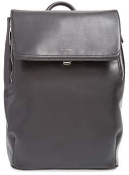 Matt & Nat 'Fabi' Faux Leather Laptop Backpack - Black