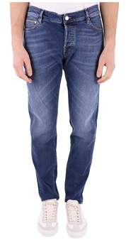 Care Label Men's Blue Cotton Jeans.