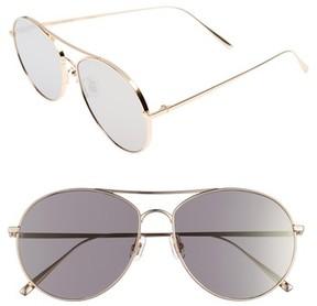 Gentle Monster Women's Ranny Ring 58Mm Aviator Sunglasses - Gold Mirror