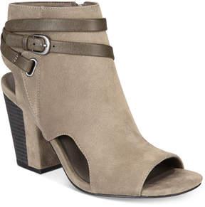 White Mountain Shira Block-Heel Dress Sandals Women's Shoes