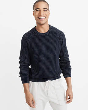 Abercrombie & Fitch Shaker Crew Sweater