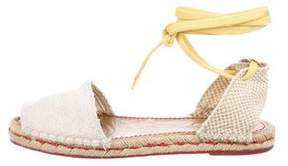See by Chloe Woven Espadrille Sandals