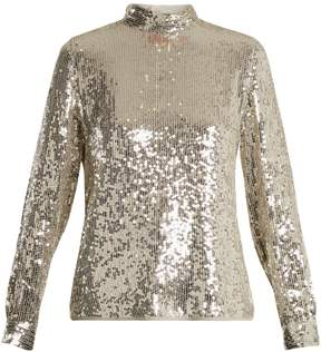 Vanessa Bruno Hena high-neck sequinned top