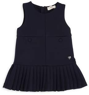 Armani Junior Girls' Pleated Drop-Waist Dress - Baby