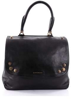 Givenchy Pre-owned: Mirte Saddle Bag Bolt Stud Leather Large.
