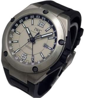 IWC Ingenieur Dual Time Automatic Titanium Men's Watch