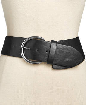 INC International Concepts Asymmetrical Stretch Belt, Created for Macy's