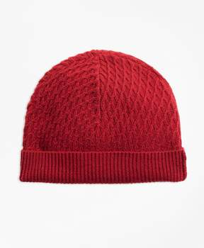 Brooks Brothers Mixed-Stitch Merino Wool Hat