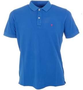 Jaggy Men's Blue Cotton Polo Shirt.