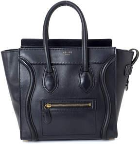 Celine Micro Luggage Handbag - Vintage