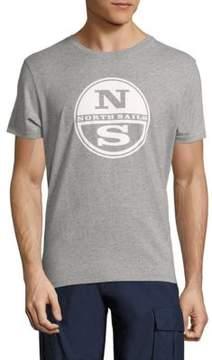 North Sails Slim-Fit Logo Embossed Cotton Tee