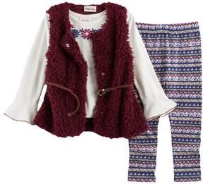 Little Lass Toddler Girl Sweater Vest