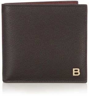Balenciaga B-Line bi-fold leather wallet