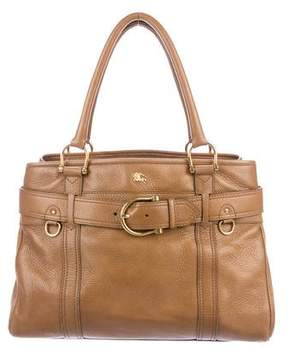 Burberry Belted Leather Tote