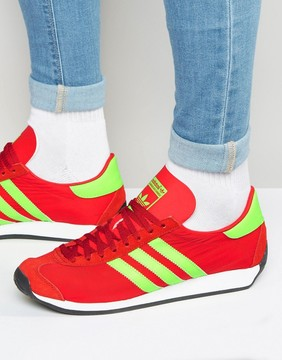 adidas Country OG Sneakers In Red S32117