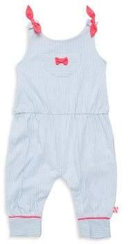 Billieblush Baby's Thin Stripe Cotton Jumpsuit