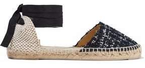 Manebi Tweed And Woven Espadrilles