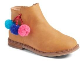 Tucker + Tate Toddler Girl's Pom Boot