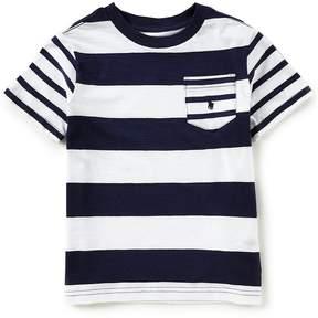 Ralph Lauren Little Boys 2T-7 Short-Sleeve Striped Jersey T-Shirt
