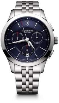 Victorinox Stainless Steel Chronograph Bracelet Watch