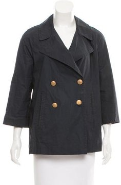 Boy By Band Of Outsiders Double-Breasted Notch-Collar Jacket