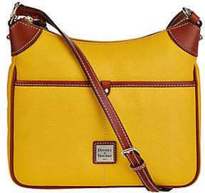 Dooney & Bourke As Is Pebble Leather Kimberly Crossbody Bag