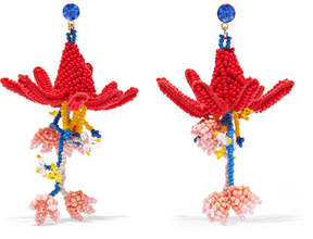 Etro Beaded Earrings - Red