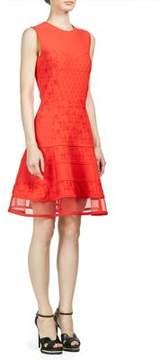 Alexander McQueen Floral Embroidered Dress
