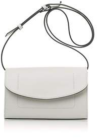 Joanna Maxham The Runthrough Mini Bag In White Nappa (nkl).