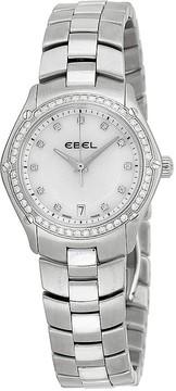 Ebel Classic Sport Mother of Pearl Diamond Bezel Ladies Watch