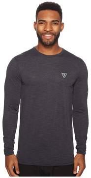 VISSLA Alltime Long Sleeve Heathered Surf Tee UPF 50 Men's Long Sleeve Pullover