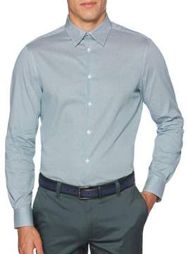 Perry Ellis Geometric Casual Button-Down Shirt