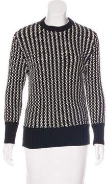 Timo Weiland Cable Knit Wool Sweater