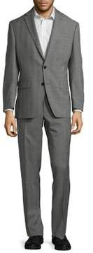 Lauren Ralph Lauren UltraFlex Slim-Fit Windowpane Wool Suit