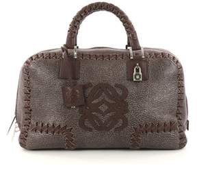 Loewe Pre-owned: Amazona Bag Whipstitch Leather 36.