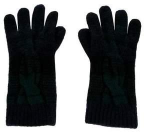 Ralph Lauren Cashmere Plaid Gloves