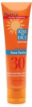 Kiss My Face Face Factor Sunscreen For Face & Neck SPF 30