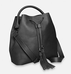 Avenue Alana Drawstring Tassel Bag