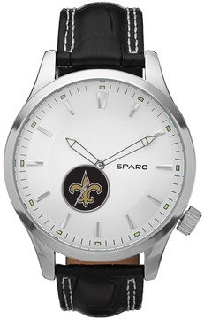 Icon Eyewear Sparo Watch - Men's New Orleans Saints Leather