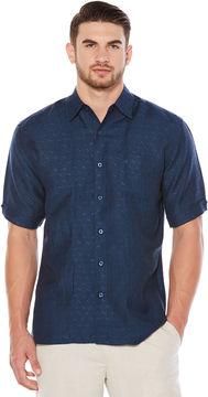 Cubavera 1 Pocket Dobby Texture with Tucks Shirt