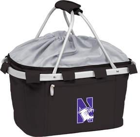 Picnic Time Metro Basket Northwestern University Wildcats Emb