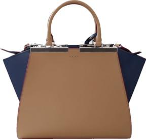 FENDI 3 Jours Color Block Bag